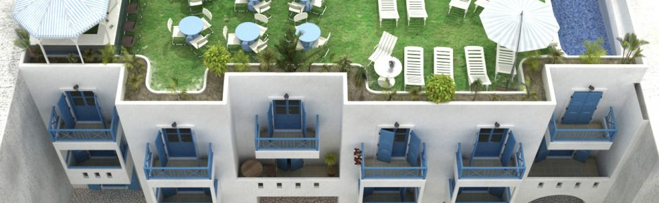 Tρισδιάστατος σχεδιασμός ξενοδοχείου