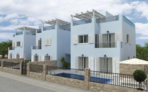 Μεζονέτες Κυκλαδίτικου Στιλ στη Κύπρο