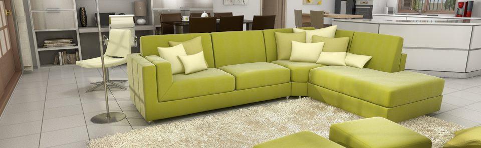 Λαχανη καναπές 3d εσωτερικό