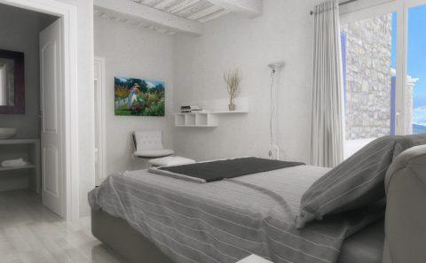 Υπνοδωμάτιο 3d απεικόνιση