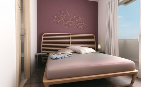 Διπλό κρεβάτι μοντέρνας γραμμής