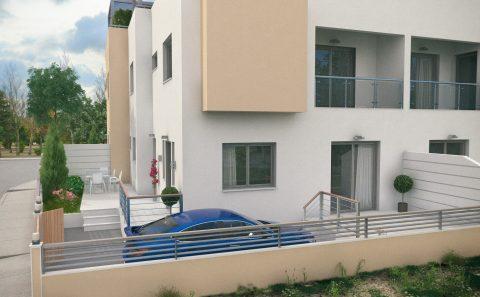 Διαμόρφωση ιδιωτικού χώρου πολυκατοικίας