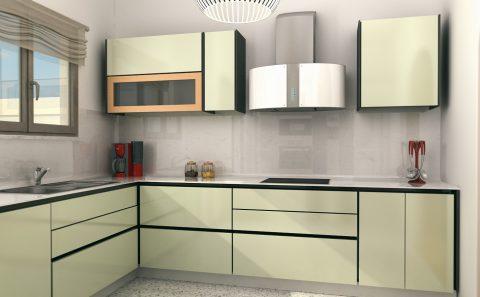 Παρουσίαση κουζίνας 3d