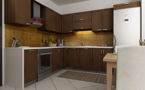 Κλασική κουζίνα μελέτη πριν την κατασκευή