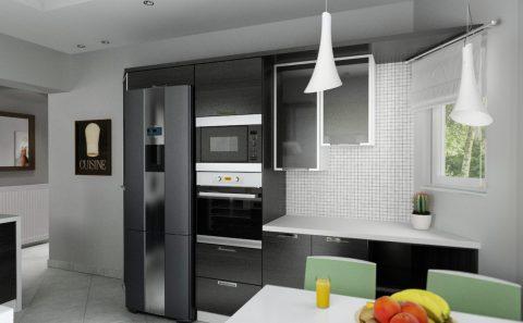 Ντουλάπια κουζίνας 3d