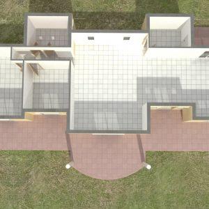 Παράδειγμα σταδιακής σχεδίασης πρώτου ορόφου