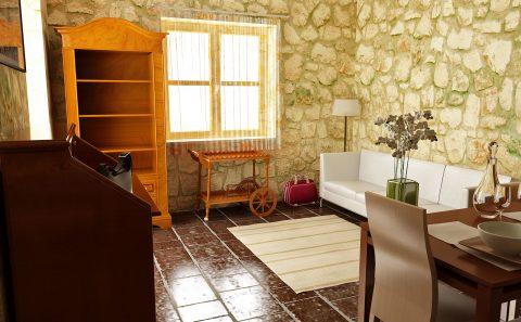 Εσωτερικό παραδοσιακού πέτρινου σπιτιού