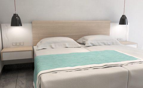 Κεφαλάρι ξενοδοχειακού κρεβατιού πρότασή προς κατασκευή