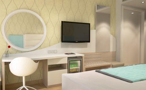 Πρόταση επίπλων ξενοδοχείου ειδική cnc κοπή