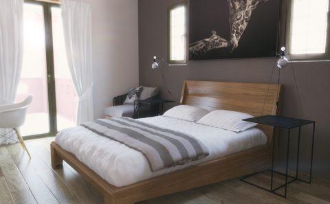 Υπνοδωμάτιο διπλό κρεβάτι 3d