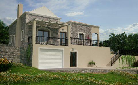 Πέτρινο σπίτι 3d