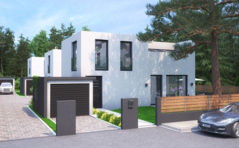 Μοντέρνες κατοικίες στη Γερμανία
