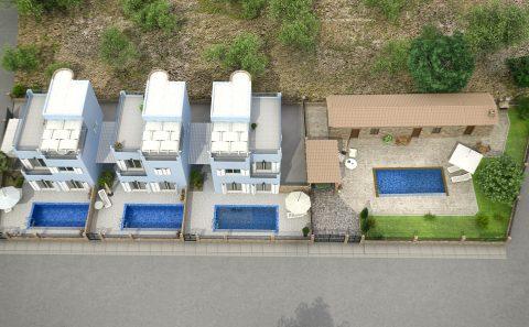Συγκρότημα τεσσάρων κατοικιών στη Κύπρο