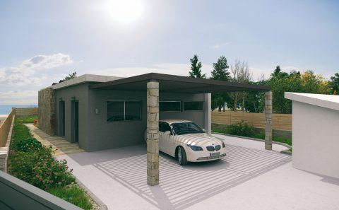 Μοντέρνο σκεπαστρο σύγχρονη αρχιτεκτονικη