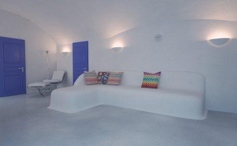 Φωτορεαλισμος εσωτερικού μελλοντικού δωμάτιου