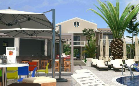 Εικονική κατασκευή ξενώνα