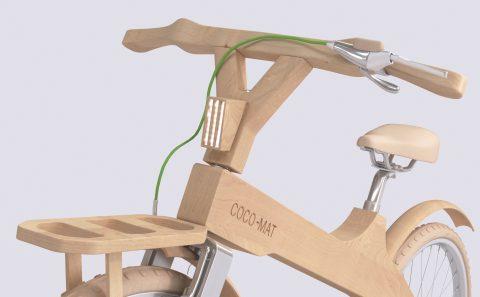 3D ποδήλατο της Coco-mat για τον διαγωνισμό τα φώτα του ποδηλάτου