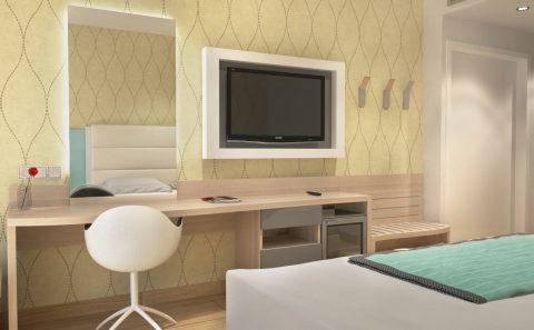 Πρόταση επίπλων ξενοδοχείου