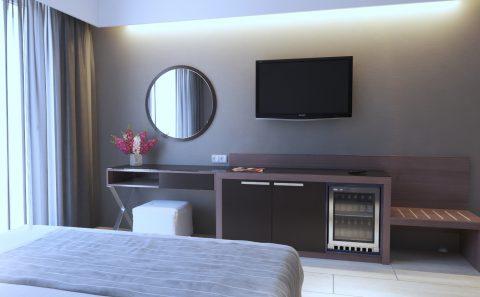 Διαμόρφωση ξενοδοχειακού δωματίου