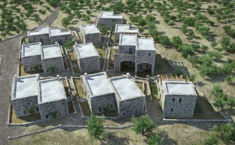 Τρισδιάστατο διάγραμμα κάλυψη κατοικιών