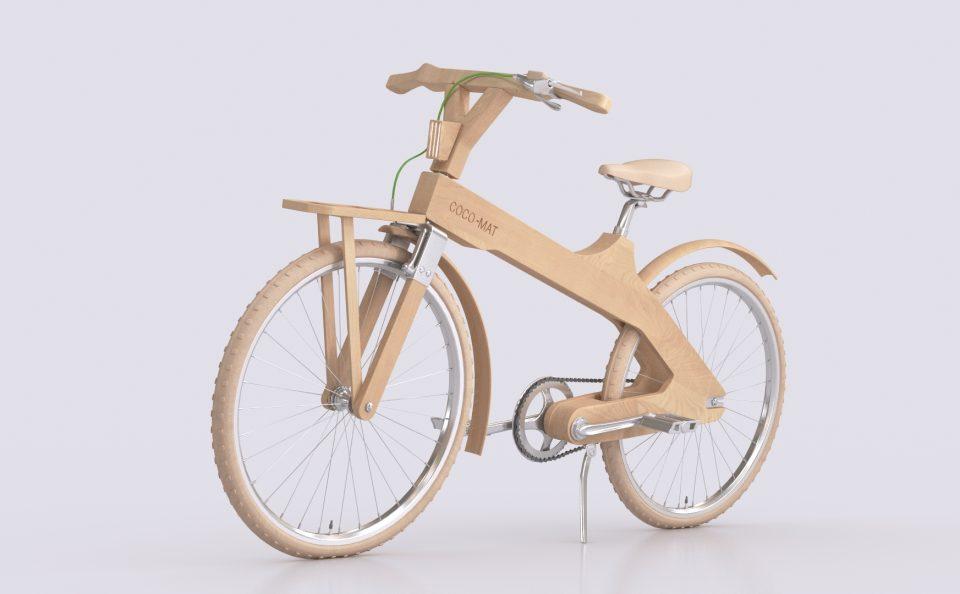Τρισδιάστατο σχέδιο του ποδήλατου της Coco-mat